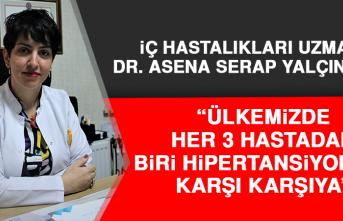 Dr. Yalçınkaya: Ülkemizde Her 3 Hastadan Biri Hipertansiyon İle Karşı Karşıya