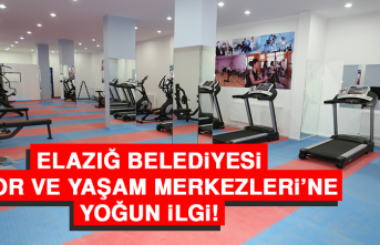 Elazığ Belediyesi Spor ve Yaşam Merkezleri'ne Yoğun İlgi