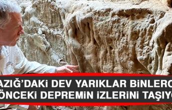 Elazığ'daki Dev Yarıklar Binlerce Yıl Önceki Depremin İzlerini Taşıyor