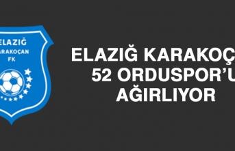 Elazığ Karakoçan, 52 Orduspor'u Ağırlıyor