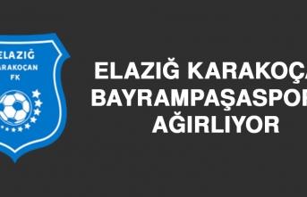Elazığ Karakoçan FK, Bayrampaşaspor'u Ağırlıyor