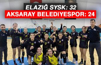 Elazığ SYSK: 32 - Aksaray Belediyespor: 24