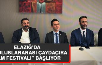 """Elazığ'da """"13. Uluslararası Çaydaçıra Film Festivali"""" Başlıyor"""