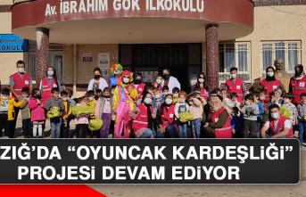 """Elazığ'da """"Oyuncak Kardeşliği"""" Projesi Devam Ediyor"""