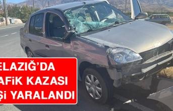 Elazığ'da Trafik Kazası Oldu
