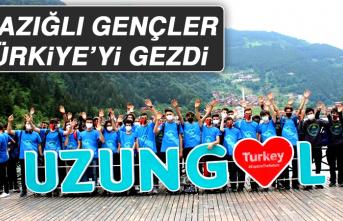 Elazığlı Gençler Türkiye'yi Gezdi