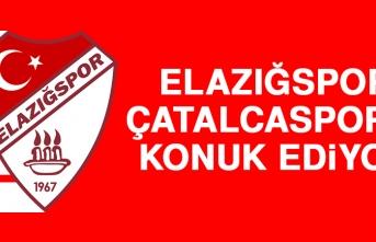 Elazığspor, Çatalcaspor'u Konuk Ediyor
