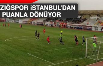 Elazığspor, İstanbul'dan Puanla Dönüyor
