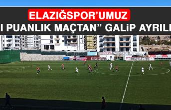 Elazığspor - Kahta 02 Spor Karşılaşması Sona Erdi