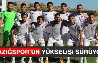 Elazığspor'un Yükselişi Sürüyor