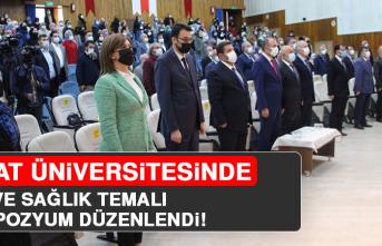 Fırat Üniversitesinde, Din ve Sağlık Temalı Sempozyum Düzenlendi