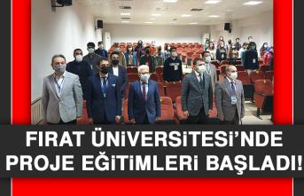 Fırat Üniversitesi'nde Proje Eğitimleri Başladı