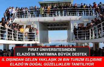 Fırat Üniversitesinden, Elazığ'ın Tanıtımına Büyük Destek