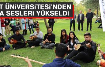 Fırat Üniversitesi'nden Nota Sesleri Yükseldi