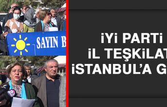 İYİ Parti İl Teşkilatı, İstanbul'a gitti