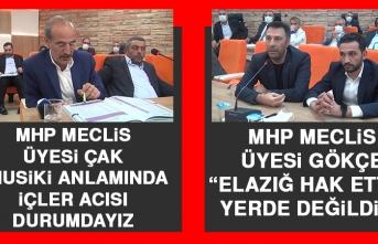 MHP'li Belediye Meclis Üyeleri Meclis Toplantısında Harput Musikisini Gündeme Getirdi