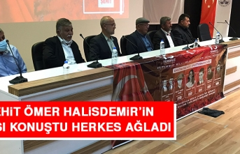 Şehit Ömer Halisdemir'in Babası Konuştu Herkes Ağladı
