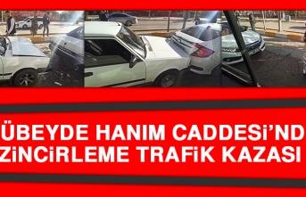 Zübeyde Hanım Caddesi'nde Zincirleme Trafik Kazası