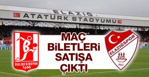 Elazığspor'da Balıkesirspor Maçı Biletleri Satışa Çıktı