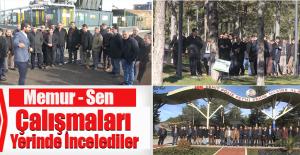 Elazığ Belediyesi'nin Çalışmalarını Yerinde İnceledi