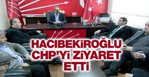 Hacıbekiroğlu CHP'yi Ziyaret Etti