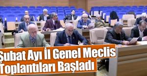 Meclis Toplantıları Başladı
