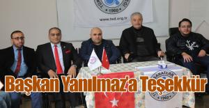 Türkiye Sakatlar Konfederasyonu'ndan Teşekkür