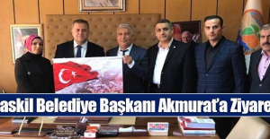 Başkan İhsan Akmurat'a Ziyaret
