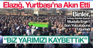 Yurtbaşı Belediye Başkanı Mustafa Ergin, Son Yolculuğuna Uğurlandı