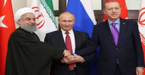 Erdoğan, Putin ve Ruhani Görüşmesinde Gündem Suriye'nin Yeni Anayasası Olacak