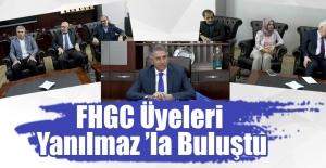 FHGC Üyeleri Yanılmaz'la Buluştu