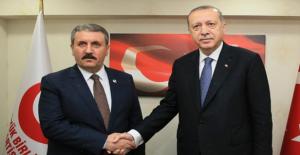 Cumhurbaşkanı Erdoğan BBP'yi Ziyaret Etti