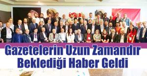 Erdem, Müjdeli Haberi Çanakkale'den Verdi