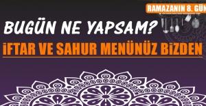 Ramazanın Sekizinci Gününde Elazığlılara Özel Menü