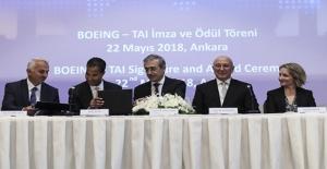 TAI İle Boeing Arasında 200 Milyon Dolarlık Anlaşma