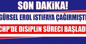 CHP'de Disiplin Süreci Başladı!