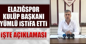 Elazığspor'da Şok Gelişme!