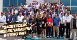 Fırat Havzası Gazeteciler Cemiyeti Başkanı Erdem Ardahan'da Konuştu