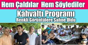 Hazar Gölünde Erkek Kuaförler ve Ailelerine Kahvaltı Programı Düzenlendi