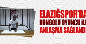 Elazığspor'da Kongolu Oyuncu İle Anlaşma Sağlandı