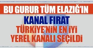 Kanal Fırat Türkiye'nin En İyi Yerel Kanalı Seçildi