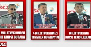 Suat Öztürk'ün Konuşması Fuar Açılışının Önüne Geçti