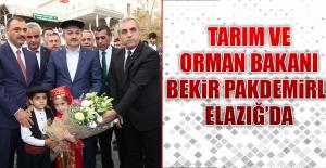 BAKAN PAKDEMİRLİ ELAZIĞ'DA