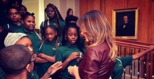 Melanie Trump'ı Umursamayan Kız Öğrenci Fenomen Oldu