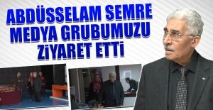 Abdüsselam Semre, Medya Grubumuzu Ziyaret Etti
