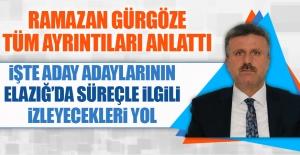 AK Parti Elazığ İl Başkanı Gürgöze, Yerel Seçimlerle İlgili Açıklama Yaptı