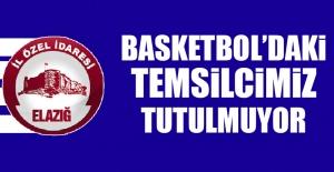 Basketbol'daki Temsilcimiz Tutulmuyor