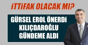 """MİLLETVEKİLİ EROL'DAN, """"İTTİFAK"""" ÖNERİSİ"""
