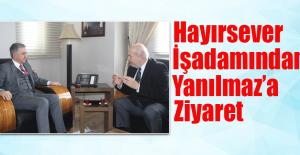 Osman Dinç, Yanılmaz'ı Ziyaret Etti