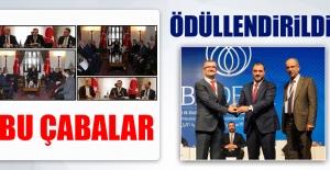 Vali Kaldırım'ın Yatırımcı Atağı Ödüllendirildi